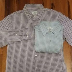 2 Mizzen+Main Trim Fit Long Sleeve Shirt